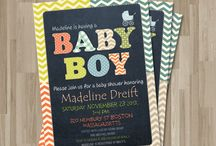 Baby Shower invitations / by Carrie Lubawy
