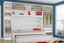 Quartos e closets