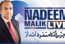 Nadeem Malik Live Talk Shows