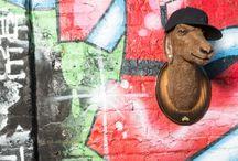 Rebel Gazelle / Faux Urban Taxidermy, sculpture, street art, Wild WestSide, Gazelle