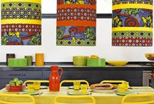 Deco africain moderne coloree