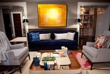 Around the House - Living Rooms / by Dana Rice