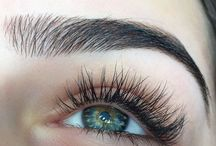 eyes/eyebrows