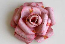 Flower - Flores / Let´s make paper flowers Hagamos flores de papel