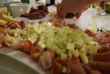 Ennen muita hunajamelonia ja serranokinkkua / Pieni makumatka välimerelle avaa aistit uuteen. Pienellä luovuudella ruokanäyttää ihan uudelta!