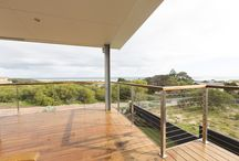 2016 Photo Competition Winner / Miami Stainless products featured throughout this amazing home including the expansive back deck with wire balustrade giving unobstructed views to the ocean, external staircase with custom made handrail posts and an open 1st floor walkway that features post-less balustrade, fixing the wires directly to the wall studs.  Visit www.miamistainless.com.au or call 1800 022 122 for more information on our quality products.