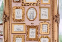 Gold wedding themes / Gold ideas for your wedding