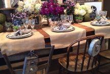 TABLE SETTINGS / by Mark Kintzel Design