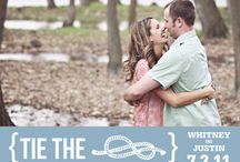 Ideas for Andree & Joe's Wedding / Navy, nautical themed wedding. / by Tess Gallagher
