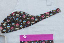 touca e avental
