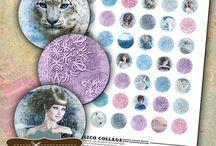 Featured: Calico Collage / Featured designer: Norella Bouchard