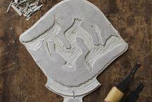 Linogravure - Engraving - Woodcut / Inspirations et techniques de linogravure, sur gomme, bois...