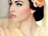 Bridal Looks  / Bridal inspiration , looks, makeup and hair