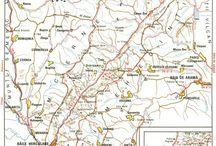 România-trasee montane / Maps