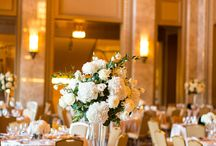 Reception  Centerpieces and Decor / Flowers Designed by Sisters Floral Design Studio
