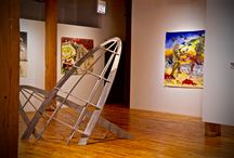 Fourth Floor Gallery / The Bridgeport Art Center has a gallery on the fourth floor exhibiting talented artists that are changed approximately every six weeks