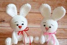 Horgolás húsvét