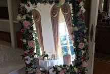 Vintage style afternoon tea at Luton Hoo Hotel and Spa / lol as wedding flowers by Wild Orchid at Luton Hoo Hotel and Spa