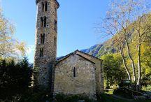 Iglesia prerrománica de Santa Coloma. Andorra. / Photo Travel History Art Architecture Fotografía Viajes Historia Arte Arquitectura