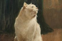 Cats in Art - ARTHUR HEYER at The Great Cat
