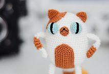 crochet cartoon