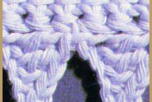 Häkelmuster / Stitch patterns