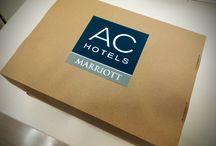 VISITA AC HOTELES / Hoy nos han visitado Edith y Beatriz, nuestr@s comerciales de #ACHotels, quienes nos han sorprendido con un fantástico desayuno... ¡Muchísimas gracias! AC Hotels by Marriott