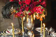 Wedding Reception Table Setups / Different table setups at wedding venues