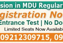 http://www.osbma.in / Student can get direct admission in MDU Rohtak Attending & Non- Attending  B.Ed Course. Here we provides all information about MDU Distance B.Ed Admission.