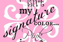 Because pink is my favorite color💗 / by Chrissy Cole