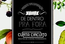 Curta Circuito 2013 / Ilustrações da Mostra de Cinema Curta Circuito. Designer: Naraiana Peret e Coordenação Editorial: Daniela Fernandes