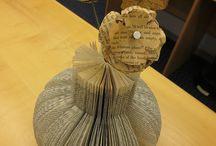 DIY-old books creativity