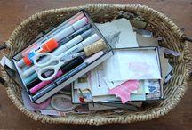 Journal Supplies + Organization