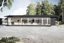 Sunhouse Linjakkaat talot -mallisto