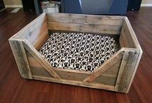 Dog beds / Dog bed ideas which I will get around to making...someday!