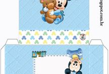 coisas Mickey beby