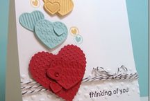 Stampin Up Hearts