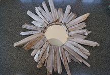 Driftwood mirror / Mirror