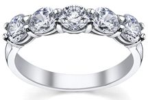 5 Stone Diamond Ring Settings / DeBebians offers an array of 5 stone diamond ring settings that are perfect for a five year wedding anniversary gift or even a wedding band.  Each 5 stone ring can be customized with different carat weights, setting styles, and metal types.  Find the ring you've been wishing for: http://www.debebians.com/5-stone-diamond-ring.html / by deBebians