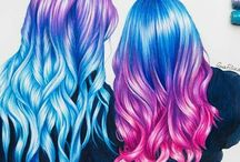 Collor hair