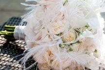 Feather wedding / http://www.bajecnasvatba.cz/