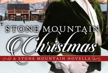 STONE MOUNTAIN CHRISTMAS / Christmas has been Celia Dubois's favorite time of year as long as she can remember. When she moves back with her parents a year after the death of her husband, the young widow is appalled at the town's lack of Christmas spirit. Two months earlier, banditos had burned the church and crushed the townspeople.  Celia vows to return holiday joy to the town. Perhaps doing so might help mend her aching heart. sweet,  Victorian, Western Historical Series, Texas
