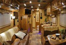 Outlaw Conversions Premier Custom Interiors / Outlaw Conversions custom living quarters, horse trailer premier interiors. outlawconversions.com