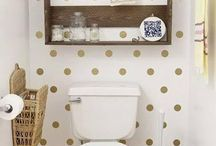 WC déco shabby