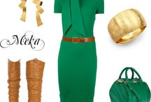 Designer Dresses & Stuff from Polyvore / My favorite polyvore items. / by Made By Meka
