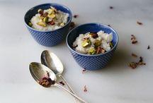 yum ideas: rice pudding / vegan recipes and recipe inspiration