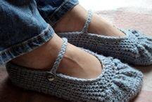 Crochet - Slippers, boots, leg warmers