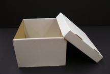 Cajas para embalaje / Cajas de canal y doble canal. / by La Bolsera .