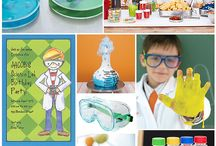 Science Themed Party Ideas / by Courtney Kirkman
