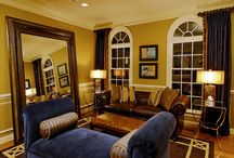 Living and Dining Rooms - His and Hers / home decor, interior design